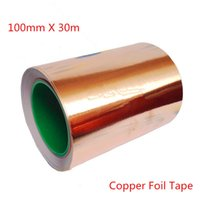Wholesale High Quality mm X m Single Adhesive Conductive Copper Foil Tape EMI Shield Copper Strip High Temperature Tape