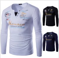 Cheap Men Tshirts Cotton Plus Size Men T shirt 2XL V Neck Mens Slim Fit T-shirts Printed Men's White Tops Homens Camiseta 8813