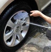 Wholesale Tire Cleaning Brush Car Care Wheel Tire Rim Scrub Brush Truck Motorcycle Bike Tire Washing Cleaning Tool