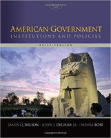 american government - 2016 American Government Institutions and Policies