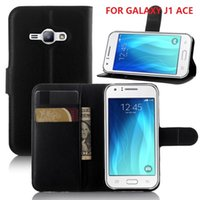 ace bags - samsung J1 ACE Wallet Flip PU Leather Case Cover Bag With Money Pocket Card Slots Stand For Samsung Galaxy J1 ACE