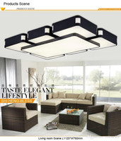 Lámparas de techo modernas montadas en superficie para sala de estar dormitorio lamparas de techo colgante lámpara de techo de techo luminaria
