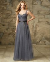 best price bridesmaid dresses - Special Hot Sale Ankle Length Corset Soft Chiffon Beach Simple Sashes Bridesmaid Dress Best Prices Long Fitted Plus Size
