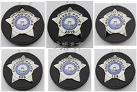 Wholesale The United States of Chicago CHICAGO PD Badge New Pure Copper Badge Embedded Wallet Perfect For Collection Styles
