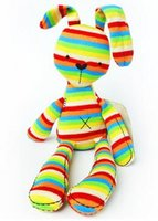 baby papa games - NEW Original Mamas Papas Rainbow Bunny Rabbit with Tags CE CM Length Cute Lovely Baby Toys Plush for Kids C0A206