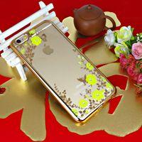Покрытие Секретный сад Мобильный телефон Чехлы для IPhone 6 6S Plus 5 5S 7 Plus цветок бабочка Алмазный Мягкий ТПУ Новейший мобильный телефон Case