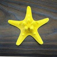art platforms - Small starfish cm Steamed Buns Art yellow not fade conch shells shooting wedding coral platform