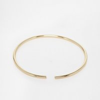 Wholesale Unique Design Polished Skinny Bangle Cuff K Gold Imitation Rhodium Optional Arm Cuff Woman Punk Geometry Concise Style OEM ODM