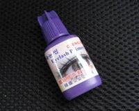 Wholesale Professional Eyelashes Glue Black Color False Eyelash Extension beauty Makeup Adhesive makeup toner makeup brush roll set