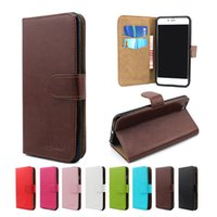 Wholesale For iphone s plus For Samsung Galaxy NOTE s7 edge Flip Leather case for LG K7 Tribute K10 cover Walllet