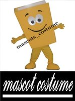 advertising red book - New Custom Advertising Costumes Yellow Blue Red Recycled Notebook Book Mascot Costume Cartoon Character Theme Mascotte Fancy Kit