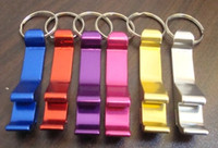anodized aluminum color - Multi Colors Can Openers Anodized Aluminum ECO Friendly Bottle Openers gifts with Keychain for Birthday Wedding Party