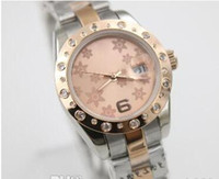 Wholesale Promotions Luxury Brand Top Quality Limited President flower Automatic Mechanical Women Rose Gold Steel Movement Ladies Watch