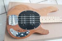 Bola de Erime del hombre de la música de la tienda del envío libre de StingRay 4 cuerdas Guitarra baja eléctrica de la fábrica china de la guitarra