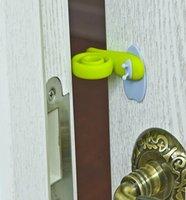 Wholesale 3 hands baby pinch resistant door card door stopper children s creative door cover door resistance kindergarten door rubber wind door st