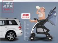 Wholesale Oh baby stroller high landscape can sit and lie two children folding handcart baby car suspension