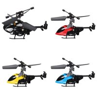 Wholesale QS New Version QS5013 CH Mini Micro Remote Control RC Helicopter Gadget Toy Drone Copter With Gyro Kids Gift