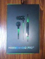 achat en gros de casque v2-Hammerhead Pro V2 Headphone dans l'écouteur d'oreille avec le microphone avec les écouteurs intra-auriculaires de jeu d'oreille de vente au détail Livraison gratuite de DHL.