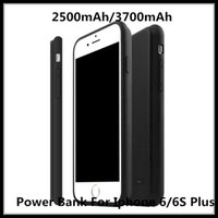 Wholesale 2500mAh mAh battery bank Power Charge case cover for iPhone S Plus Cell Phone Case With Power Bank For Iphone6 S Plus