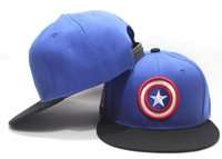 baseball comics - 2016 MLB Seahawks Adjustable Baseball Cap Comic Marvel Fitted Hats Star Wars Hiphop Sports Snapback Cap Headware Casquette