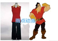 beauty beast cover - Beauty and the Beast Prince Gaston Cosplay Costume shirt pant shoe covers gloves