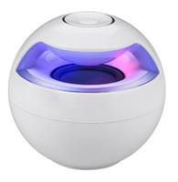 Wholesale AJ Portable Bluetooth Speaker Stereo Wireless Speakers Color lED Light Handsfree AUX Big Sound Subwoofer Loudspeakers