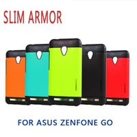 asus mobile pc - 2016 Newest High Quality Slim Armor Protective TPU PC Hard Case for ASUS Zenfone GO ZC500TG Dual Layer Mobile Phone Cover