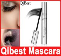 bees wax - Makeup QIBEST D MASCARA Aluminum Tube Waterproof Lengthening Cruling Thick Bees Wax Mascaras Women False Eye Lashes Make Up In Stock