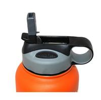 Wholesale Hot oz oz oz oz vacuum bottle Universal Fliptop Plastic Straw Lid for Hydro Flask Plain Packaging
