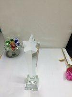 crystal awards and trophies - Custom K9 crystal trophy new design crystal trophy and awards TA7369 Ruiliang Crystal Handcraft Factory