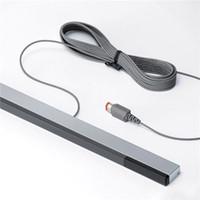 Wholesale RVL W I I Wired Infrared IR Signal Ray Sensor Bar Receiver for Nintendo for Wii U WiiU Remote