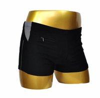 Wholesale 2016 New Large Size Mens Swim Briefs Chinlon Solid Top Grade Man Swimming Trunks Swimwear