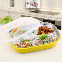 Wholesale SUS304 new style Hot Products lunch box meal box making box fast food box seal Pinkage durable fashion adult kid