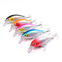 Wholesale Minnow color Fishing Lure Hooks cm g bionic bait Lures Hard Bait Fishing Hook Artificial Pesca Fishing Tackle