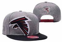 basketball falcons - 2016 new arrival Falcons Snapback Caps Adjustable All Team Basketball Hats Black Trukfit Hip Hop Snapbacks High Quality Players Sports