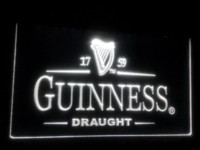Wholesale b Guinness Vintage Logos Beer Bar LED Neon Light Sign Cheap sign backlighting High Quality sign installation