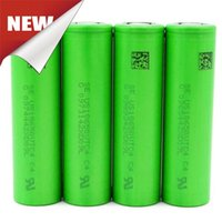 Wholesale 100 Original VTC5 VTC4 Battery mah mah A Max From Japan Lithium Rechargeable Batteries High Drain Fedex