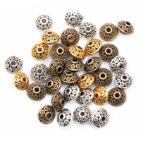 beads for jewelry - 3 Colors Mixed Tibetan Silver Spacer Beads Fashion DIY Beads For Jewelry Making Bracelet