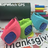 apple phone software - Cheap child kid gps tracker watch smart wear gps phone watch with free software SOS one key calling