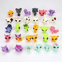 animations shop - LPS Toys Littlest Pets Shop Q Pets Mini Pet Animation Decoration Doll Animals Figures Cute Plastic Toys