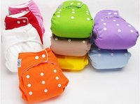 Wholesale New INSERTS Adjustable Reusable Baby Washable Cloth Diaper Nappies