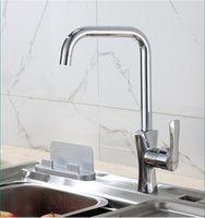 bathroom sink fittings - Contemporary Brass Kitchen Faucet Chrome Finish Bathroom Basin Sink Hot Cold Water Mixer Taps