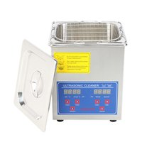Wholesale 2L ULTRASONIC CLEANER CLEANING Stainless Steel Heater Timer Bracket Jewelry