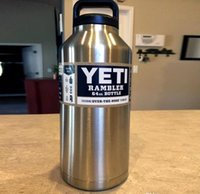 Wholesale 1pcs oz Yeti Outdoor Sport Coolers Stainless Steel Vacuum Flask Bottle Car Cup