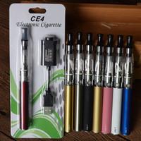 Haute qualité Nouveau ce4 e-cigarettes costume ego -t arrêté de fumer cigarettes cigarette électronique fumée cacher fumer cessation produits vapeur