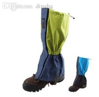 Wholesale Lz adhesive wear resistant waterproof hiking socks boot covers skiing snow cover