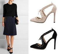 beige evening shoes - Fashion New Women Peep Toe cm High Heels Shoes Cut outs Woman Sandals Apricot Evening Party Tacones Hollow lace flower shoes free shipp