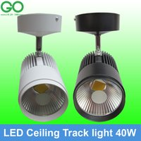 Wholesale 40W SpotLight Track Ceiling Lamp Surface Mounted Directional Spot light Track Lighting Open Mounted track lights Clothing Lamp