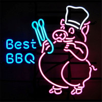 best bbq light - Best BBQ Barbecue Neon Sign Custom Store Display Beer Bar Pub Club Led Light Signs Shop Decorate Real Glass Tube Bulbs quot x14 quot