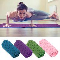 Wholesale Soft Travel Sport Fitness Exercise Yoga Pilates Mat Cover Towel Blanket for